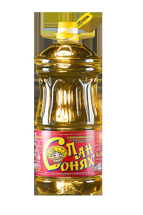 Pan Sonyah Refined Frozen Deodorized Sunflower Oil 3 litres